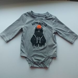 Under Armour gray infant onesie 3-6 months
